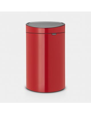 Touch Bin New 40 litre - Passion Red