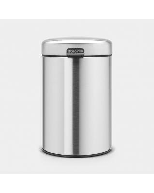 Wandafvalemmer 3 liter - Matt Steel