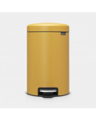 Pedaalemmer newIcon 12 liter - Mineral Mustard Yellow