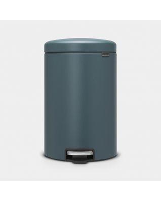 Pedaalemmer newIcon 20 liter - Mineral Reflective Blue