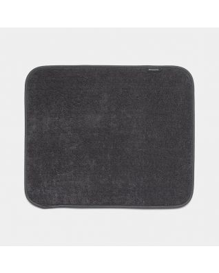 Microfibre Dish Drying Mat Dark Grey