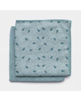 Chiffons de nettoyage en microfibre Set de 2 - Mint