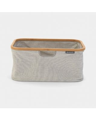 Foldable Laundry Basket 40 litre - Grey