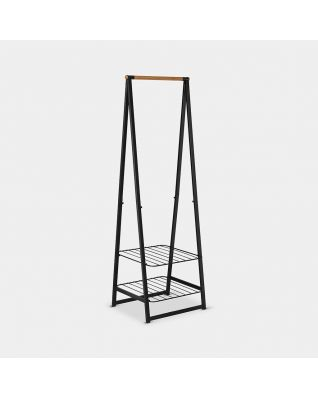 Linn Clothes Rack Small - Black