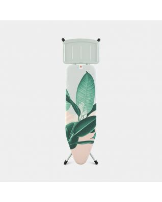 Ironing Board B 124 x 38 cm, for Steam Generator - Tropical Leaves