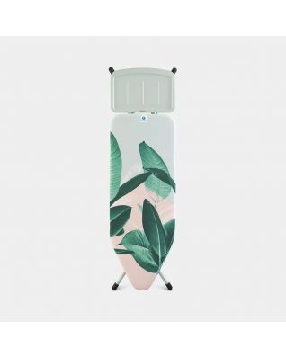 Ironing Board C 124 x 45 cm, for Steam Generator - Tropical Leaves