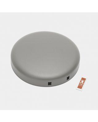 Couvercle poubelle à pédale newIcon 12 litres - Mineral Concrete Grey
