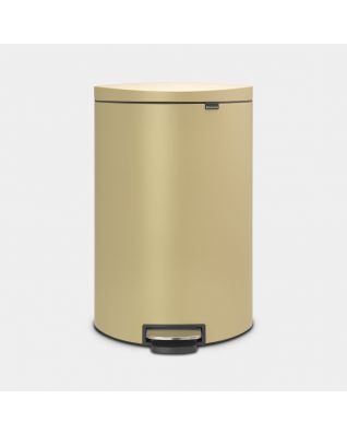 Cubo pedal Flatback+ 40 litros - Mineral Golden Beach