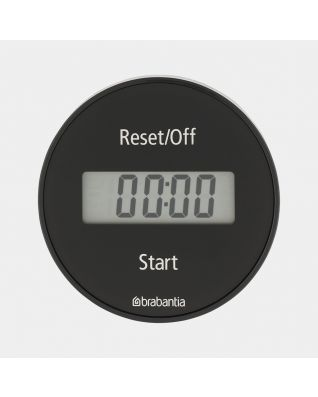 Kitchen Timer Magnetic, TASTY+ - Dark Grey