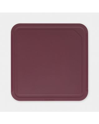 Chopping Board Medium, TASTY+ - Aubergine Red