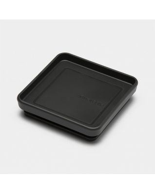 Lid Square Canister - Dark Grey