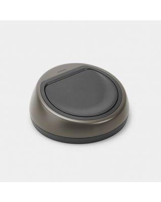 Deksel Touch Bin, 60 liter - Platinum