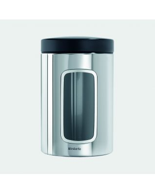 Window Canister 1.4 litre - Brilliant Steel