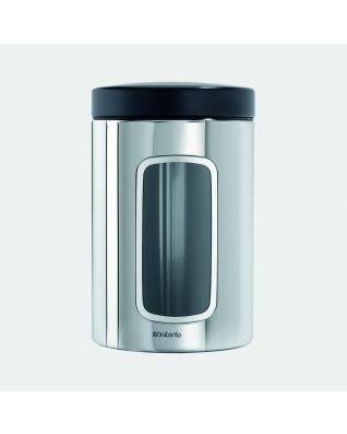 Boîte à fenêtre 1,4 litres - Brilliant Steel