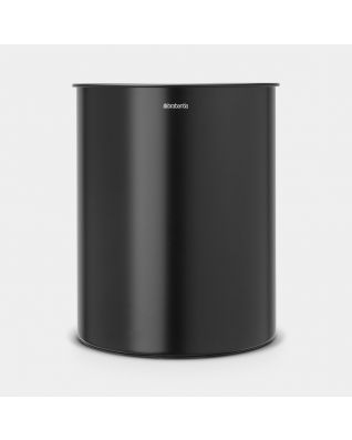Waste Paper Bin 15 litre - Matt Black