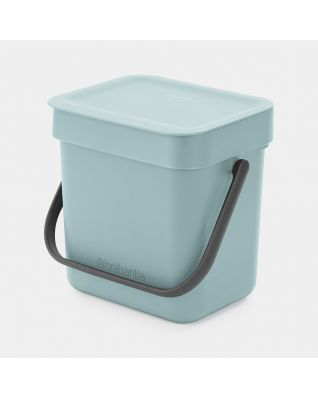 Sort & Go Waste Bin 3 litre - Mint