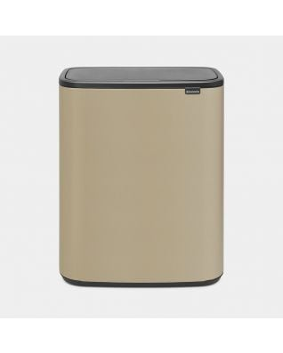 Bo Touch Bin 60 litre - Mineral Golden Beach