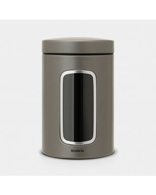 Window Canister 1.4 litre - Platinum