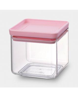 Bocal carré 0,7 litre - Tasty Colours Pink