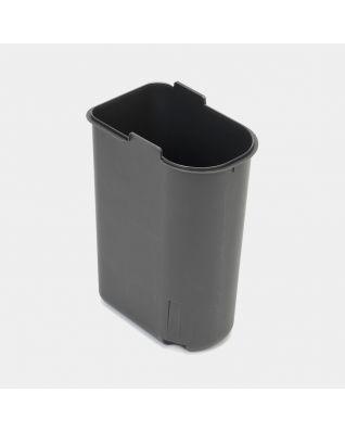 Seau intérieur plastique, 11 litres - Grey