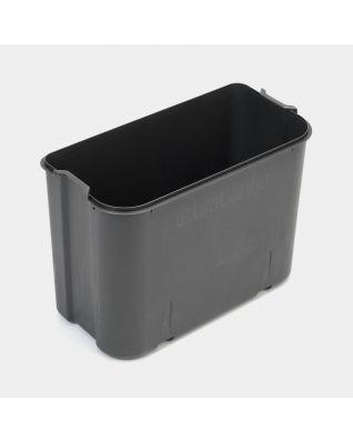 Seau intérieur plastique, 36 litres - Grey