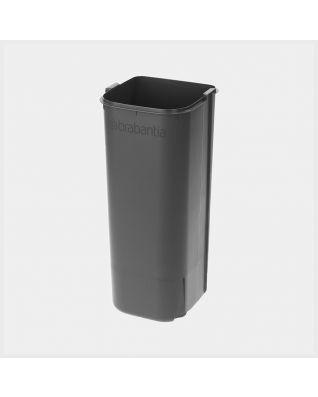 Cubo interior de plástico, 30 litros - Grey