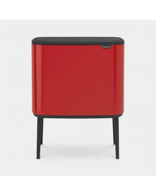 Bo Touch Bin 11 + 23 litros - Passion Red