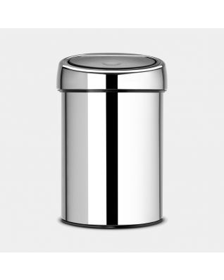 Touch Bin 3 litros - Brilliant Steel