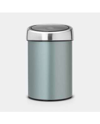 Touch Bin 3 litros - Metallic Mint