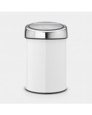 Touch Bin 3 litres - White