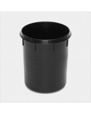 Seau intérieur plastique, 3 litres - Dark Grey