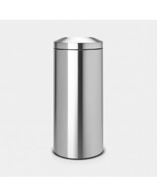 Flame Guard Waste Paper Bin 30 litre - Matt Steel
