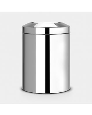 Flame Guard Waste Paper Bin 7 litre - Brilliant Steel
