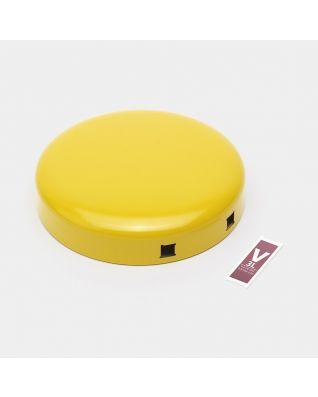 Lid Pedal Bin newIcon, 3 litre - Daisy Yellow
