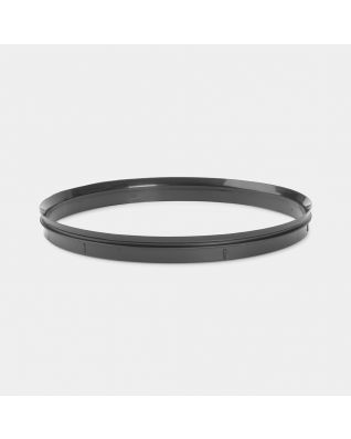 Plastic Sealing Ring, diameter 20.5cm - Black