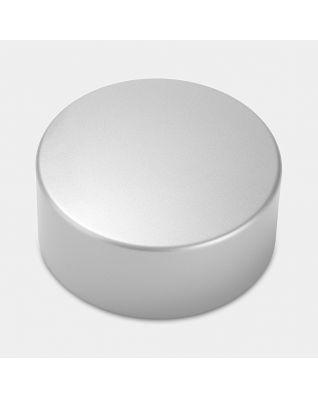 Lid Canister, High, diameter 11cm - Metallic Grey