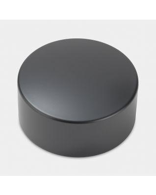 Lid Canister, High, diameter 11cm - Matt Black