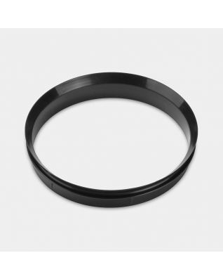 Plastic Sealing Ring, Biscuit Canisters - Black