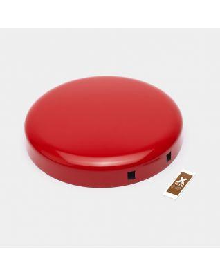 Coperchio pattumiera NewIcon 12 litri - Passion Red