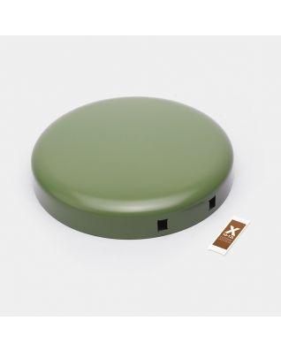 Lid Pedal Bin newIcon, 12 litre - Moss Green