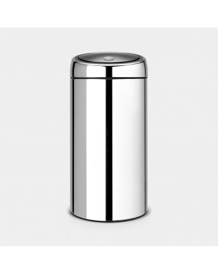 Touch Bin 45 litres - Brilliant Steel