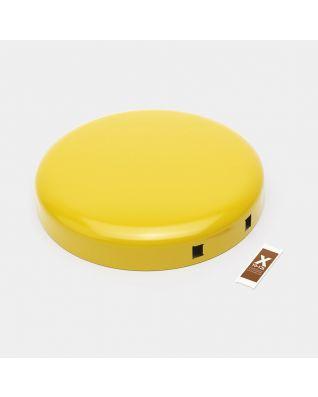 Lid Pedal Bin newIcon, 12 litre - Daisy Yellow