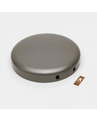 Coperchio pattumiera NewIcon 12 litri - Platinum