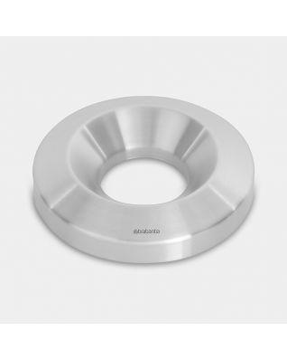 Deksel prullenbak Flame Guard, 15 liter, diameter 25 cm - Matt Steel