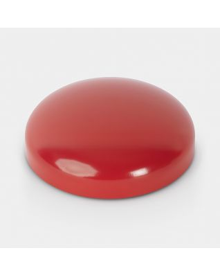 Couvercle pour poubelle à pédale Retro, 12 litres/20 litres, diamètre 25 cm - Passion Red