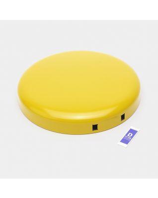 Lid Pedal Bin newIcon, 20 litre - Daisy Yellow
