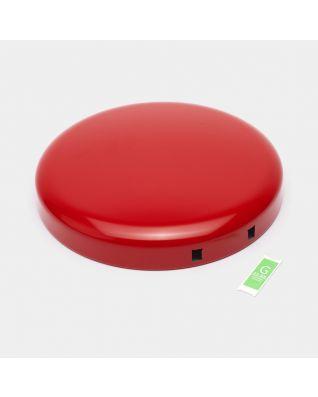 Lid Pedal Bin newIcon, 30 litre - Passion Red