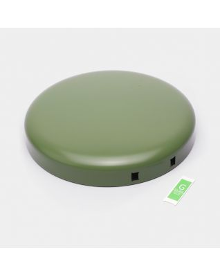 Lid Pedal Bin newIcon, 30 litre - Moss Green