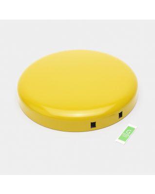 Lid Pedal Bin newIcon, 30 litre - Daisy Yellow