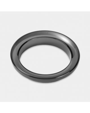 Plastic Rim for Waste Bin for Coffee Pads - Black